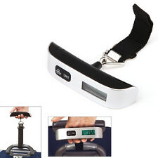 10g Portable LCD Digital Hanging Luggage Scale Hand Carry Electronic 50kg Weight