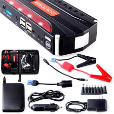68800mAh 4USB Multi-Function Car Jump Starter Power Bank Rechargable Battery 12V