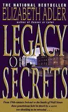 BUY 2 GET 1 FREE Legacy of Secrets by Elizabeth A. Adler (1994, Paperback)
