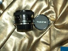GENUINE ORIGINAL 28mm F2.8 AUTO MD TOKINA  EL WIDE ANGLE LENS for MINOLTA SLR