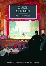 Quick Curtain (British Library Crime Classics), Alan Melville, Acceptable Book