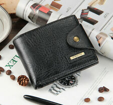Men Wallet PU Leather Bifold ID Card Holder Credit/ID Card Coin Pocket Purse New