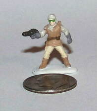 Very Small Micro Machine Plastic Star Wars Hoth Rebel Soldier w/Brown Belt