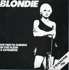 CD SINGLE BLONDIE Rip her to shreds 3-track CARD SLEEVE
