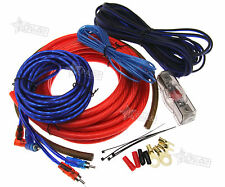 2000W 100A 4 GAU Car Amplifier RCA Wiring Fuse Audio Sound Speaker Cable Kit Q7