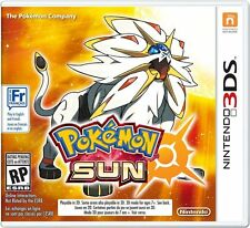Pokemon Sun [Nintendo 3DS Exclusive Sun Edition Video Game] Brand New Sealed