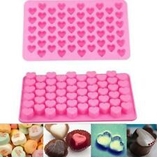 Silicone Heart Design Cake Chocolate Cookies Baking Mould Soap Molds Tray Baking