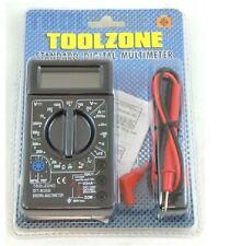 Toolzone Digital Multimeter - Voltmeter Ammeter OHM AC DC Circuit Checker Tester
