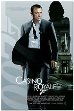 007 Casino Royale James Bond Daniel Craig Movie Silk Poster Print 60x90cm