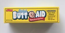 Baby's BUTT AID Medicated Ointment diaper rash baby bottom 16% Zinc Oxide 2 OZ