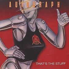 Autograph - That's the Stuff CD ? Heavy Metal - 80's Glam Metal