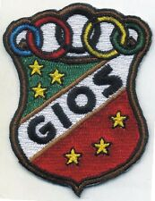 GIOS TORINO BICYCLE EMBROIDERED PATCH ITALIAN VINTAGE BIKE HEAD BADGE CREST