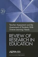 Teacher Assessment and the Assessment of Students with Diverse Learning Needs: R