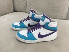 Adorable Womens Nike High Tops Purple Teal Size 8 US Super Comfy Nike Shoes