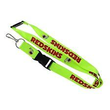 Washington Redskins Lanyard, Green Neon