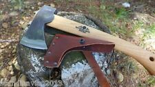 Gransfors Wildlife Hatchet Swedish Axe 415 +Leather Sheath+Guaranty Sweden Made