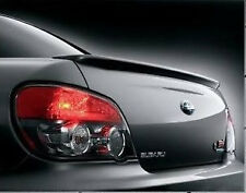 FOR 2002-2007 Subaru WRX STI LIMITED Sdn Un-Painted-Primer Factory Rear Spoiler