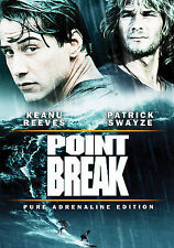 Point Break (DVD, 2006, Canadian Pure Adrenaline Edition)