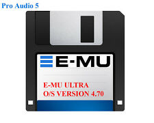 EMU Operating System Version 4.70 Supplied on Floppy Disk - E-MU ULTRA EOS UK