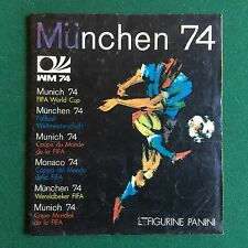 ALBUM Figurine Sticker MUNCHEN 74 WORLD CUP Ed. PANINI 1974 COMPLETO !!! 100%