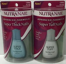 1 LOT of 4 Nutra Nail Super Thick Nails & Super Tuff Nails