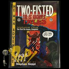 The EC Archives TWO-FISTED TALES Volume 1 HC Hardcover 1st Edition GEMSTONE NM!