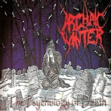 ARCHAIC WINTER-THE PSYCHOLOGY OF DEATH-CD-death-black-metal
