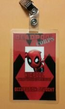 Deadpool ID Badge -   Deadpool Corps Kid Deadpool Wade Wilson cosplay costume