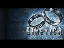 KINETICA DVD + GIMMICKS BY SEAN FIELDS & CRISS ANGEL MAGIC COIN BILL RING TRICKS