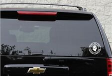 Paranormal investigator ghost hunting decal in 5 colors