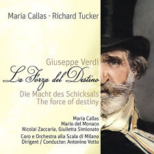 CD Maria Callas La Forza Del Destino, the power of the Schicksals von Verdi 2CDs