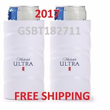 2017 AUTHENTIC Michelob Ultra SLIM CAN Golf Koozie Budweiser Bottle Bud Light