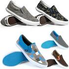 Mens Casual Canvas Summer Plimsolls Trainers Pumps Boat Deck Beach Shoes Size