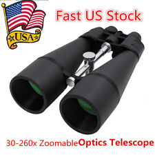 Fully Coated 30-260x Zoomable Binoculars Night Vision Optics Telescope US F