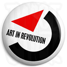 Art in Revolution - Back to the Future - Marty McFly Film 25mm Button Badge