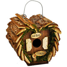 Bird House Hotel Home Garden Nest Station Ready Made Nesting House Hanging Tree
