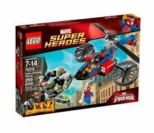 LEGO MARVEL SPIDER-MAN HELICOPTER RESCUE 76016