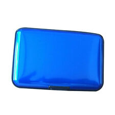 Fashion Waterproof Aluminum Metal Business ID Credit Card Wallet Holder Case New