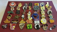 Lot of 25 Disney Trading Pins, No Duplicates, LE, HM, Rack, Free Shipping