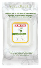 Burt's Bees Organic SENSITIVE Facial Cleansing Towelettes: 30 Face Towels/Cloths