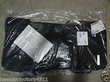 Genuine OEM Mercedes Benz C Class W203 S203 Black Carpeted Floor Mats 02-07