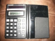 VINTAGE SHARP BOXED CALCULATOR ELSI MATE EL -376 SOLAR CELL WORKING