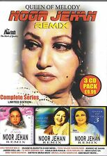 NOOR JEHAN - REMIX SERRIES - QUEEN OF MELODY - COMPLETE SERRIES 3CDs SET
