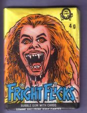 1988 OPC FRIGHT FLICKS Wax Pack w/ Fright Night Wrapper Variation RARE!!!