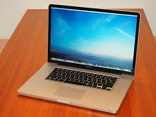 "Apple Macbook Pro 17"" 2.2 GHz Quad i7 + 16 GB RAM + Hi-Res Screen! + EXTRAS!!"