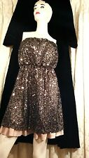 DKNY jeans  sequined dress XL