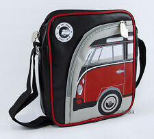 Bulli VW Campervan PVC Tablet iPad Shoulder Bag - Red FREE P&P - CLEARANCE
