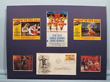 "Debbie Reynolds & Gene Kelly - ""Singin' In The Rain"" & Donald O'Connor autograph"
