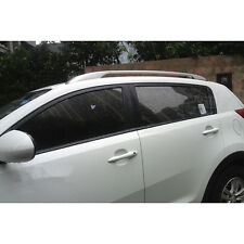 Sliver Side Bars Rails Roof Rack For Kia Sportage 2010 2011 2012 2013 2014 2015