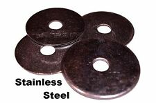 """Stainless Steel Fender Washers  1/4"""" x 1"""" (50 pcs)"""
